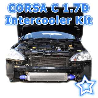 Vauxhall Opel Corsa C 1.7 Turbo Diesel 2001   2006 Intercooler Kit