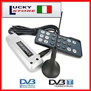 DECODER DIGITALE TERRESTRE DVB T TV PC USB NOTEBOOK c3
