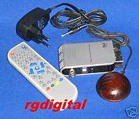 DVB T DECODER DIGITALE TERRESTRE TV SCART SATELLITARE