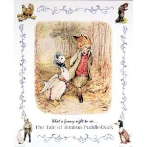 Beatrix Potter Tale Of Jemima Puddle Duck 16x20 Art Print