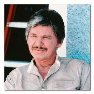 Charles Bronson Color Box Canvas Print Gallery Wrapped