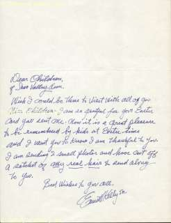 EMMETT KELLY   AUTOGRAPH LETTER SIGNED