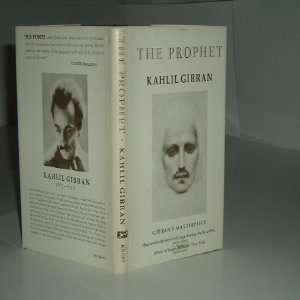 PROPHET By KAHLIL GIBRAN 1975 Reprint Edition: KAHLIL GIBRAN: Books