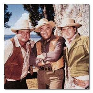 Wrapped Box Canvas Print (Lorne Greene Michael Landon) Home & Kitchen