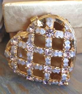 heart shaped trinket box by susanna freud