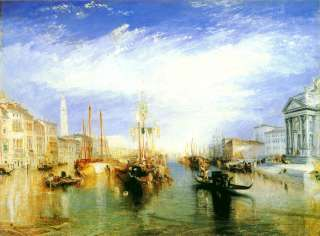 William Turner Great Canal, Venice Oil Painting repro