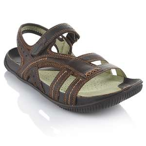 Earth® footwear Trudy Nubuck Leather Healthy Sandal at HSN