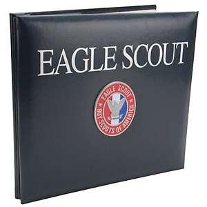 Company Boy Scouts Of America Metal Emblem Scrapbook 12X12   Eagle