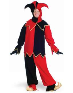Halloween Costumes > Mens Costumes > Clown > Adult Court Jester