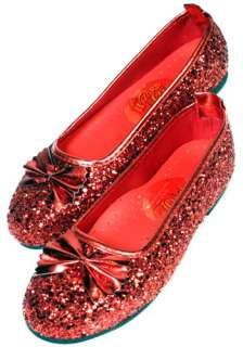 Dorothy Costumes Dorothy Accessories Kids Ruby Slippers Red Shoes