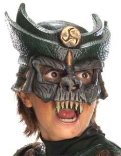 Kids Chinless Samurai Mask   Boys Halloween Costume Accessories
