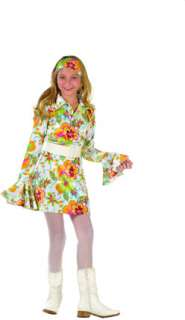 Psychedelic Girl  Child (Kids Costume)