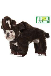 Animal Planet Wooly Mammoth Pet Costume for Halloween   Pure Costumes