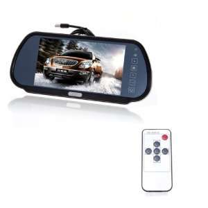 Inch TFT Color LCD Wide Screen Car Rear View Backup Parking Monitor