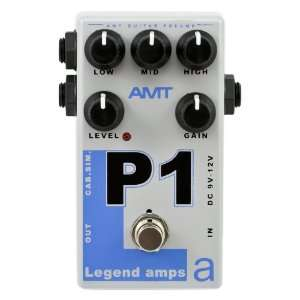 AMT Electronics P1 Legend Amp Series Pedal Musical Instruments