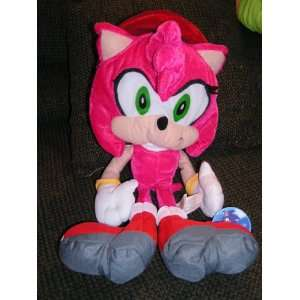 Sonic X 18 Plush Amy Rose Doll by Toy Network: Everything