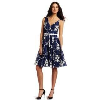 HALSTON HERITAGE Womens Tie Waist Dress Clothing