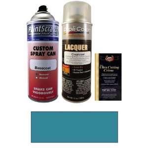 12.5 Oz. Aquamarine Blue Metallic Spray Can Paint Kit for