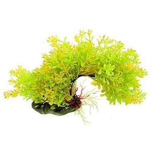 Como Fish Tank Plastic Arch Bridge Style Aquatic Plants