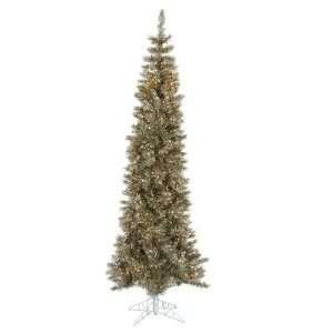 Vickerman K884076 90 Artificial Pencil Christmas Tree