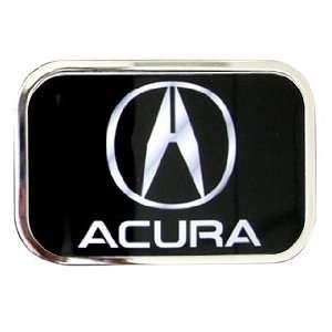 Acura Logo on Original Acura Logo Belt Buckle Licensed Chrome Frame