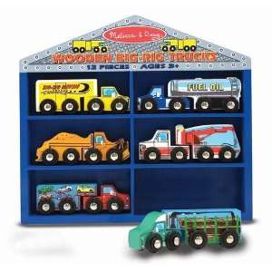 Big Rig Trucks Vehicle Set by Melissa & Doug Toys & Games