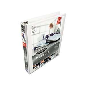 Lock No Gap Vinyl View D Ring Binder, 1 Capacity, W: Home & Kitchen
