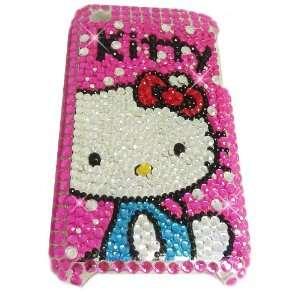 KITTY Apple iPhone 3G 3GS 8GB 16GB 32GB Full Diamond Rhinestones Bling