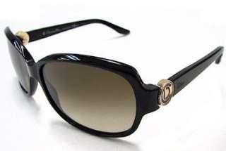 Christian Dior Model 2/S Sunglasses Black / Brown Gradient