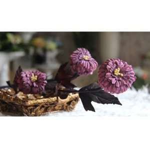 Artificial Flowers Chrysanthemum opean Style 4pc Set