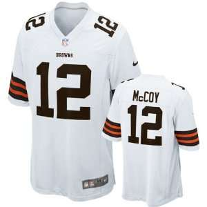 Jersey Away White Game Replica #12 Nike Cleveland Browns Jersey