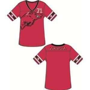 Arkansas Razorbacks UA NCAA Ladies Jersey Tunic T Shirt