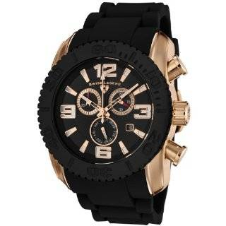 Swiss Legend Mens 20067 09 Commander Collection Chronograph Rose Dial