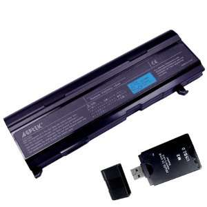 Card Reader    6600 mAh 9 cells Replacement Battery Computers