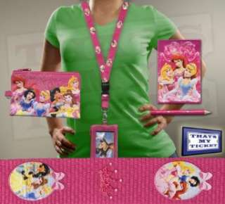 Disney Princesses Lanyard w/ Holder, Purse & Stationary Clothing