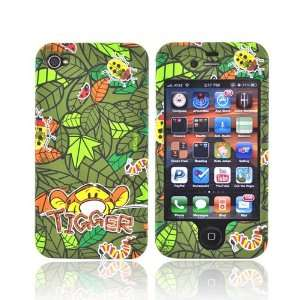 TIGER GREEN For Disney iPhone 4 Rubber Hard Case Cover Electronics