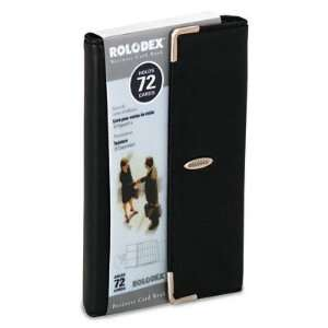 o Rolodex o   Faux Leather Business Card Book Holds 72 2 1
