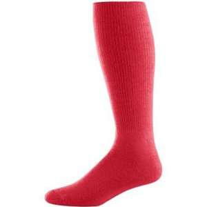 Tube Socks RED ADULT (TUBE SOCK SIZE 10 13) Sports & Outdoors
