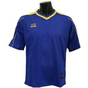 Kelme Vilassar Custom Soccer Jerseys 289   ROYAL/GOLD AM