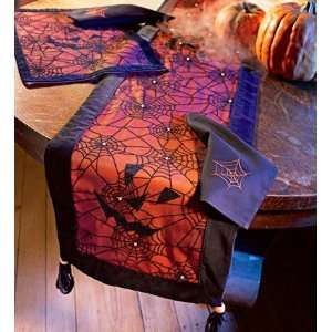 Handcrafted Spiderweb Table Runner