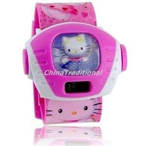 Hello Kitty Projector Electronic Digital Wrist Kids Watch Everything