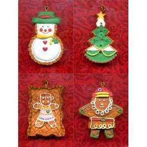 CHRISTMAS COLLECTABLES 5 Piece Christmas Ornament Set