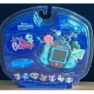 Littlest Pet Shop Digital Pet Care For Me Turtle Toys & Games
