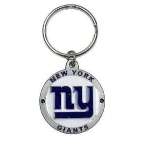 NFL Key Ring   New York Giants Logo Automotive