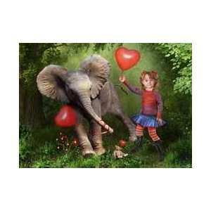 Jumbo Love Personalized Invitations & Thank You Notes Toys & Games