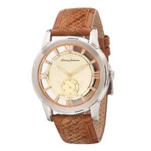 Tommy Bahama Swiss Mens TB1155 Grenada Leather Strap Watch