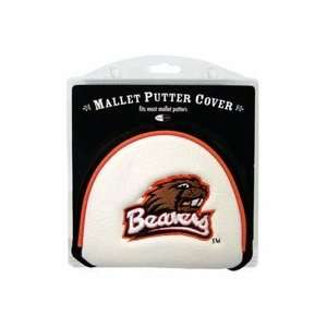 State Beavers Golf Mallet Putter Cover (Set of 2)