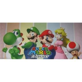 New Super Mario Bros Game Fabric Wall Scroll Poster (21 x