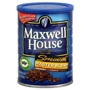 Maxwell House Coffee, Master Blend, 11.5 oz (Pack of 6)