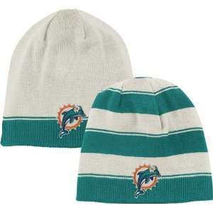 Miami Dolphins Cuffless Reversible Knit Hat Sports
